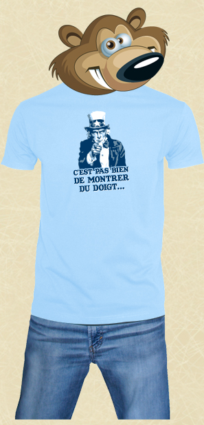 t shirt Uncle Sam